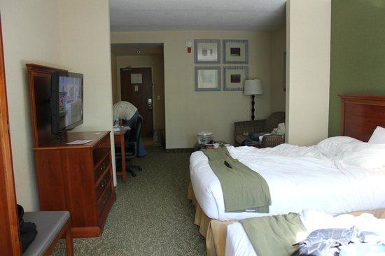 Holiday Inn Express Hagerstown: basic room/suite