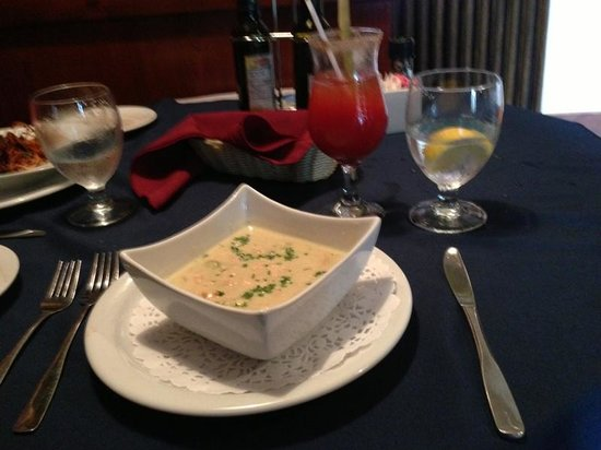 Spencer's Tall Trees Restaurant : Soup of the day