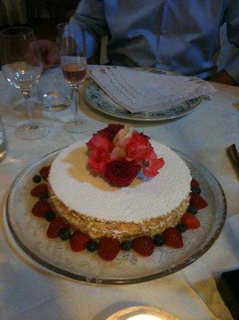 Ristorante Enoteca Del Duca: wedding cake