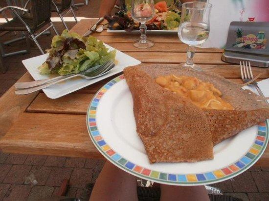 Crêperie Au Gré du Vent: galette aux fruits de mer 8€