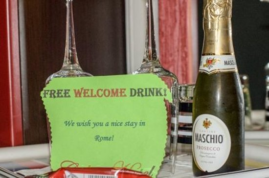 Colors Hotel : Welcome sparkling wine