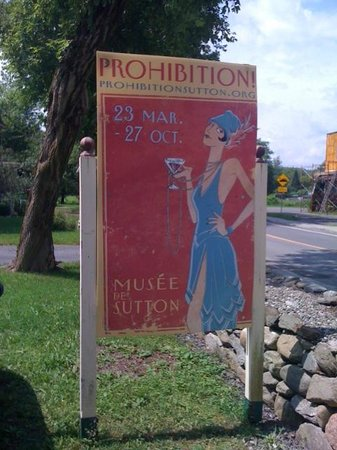 Musee des Communications et d'Histoire: The prohibition exhibition at the museum