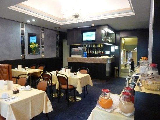 Hotel Centrale Byron: sala colazioni 1