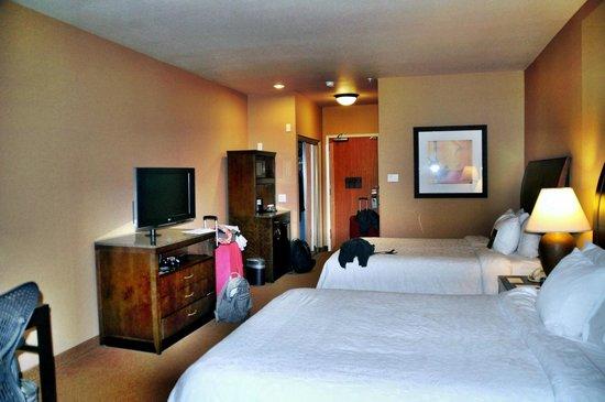 Hilton Garden Inn Salt Lake City Downtown: unser Zimmer