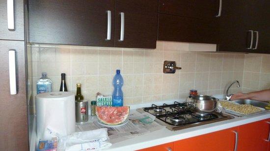 Residenze Le Vele: Cucina