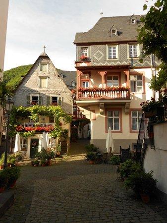 Hotel Haus Lipmann: View of Annex from the Marktplatz