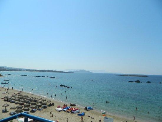 Danaos Hotel: View of Nea Chora from Balcony