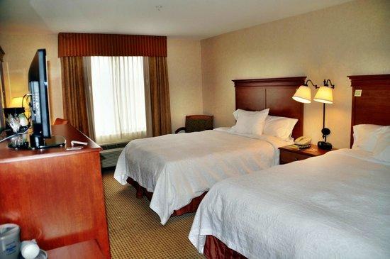 Hampton Inn Rock Springs : unser Zimmer