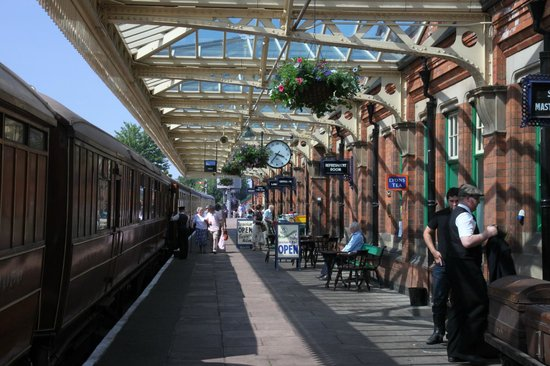 Great Central Railway: Loughborough Central station