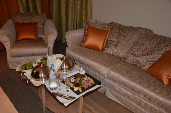 Hotel Das Rübezahl: Couch