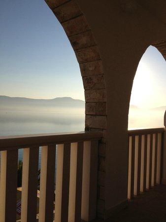 Hotel Vila Tina: Vår balkong