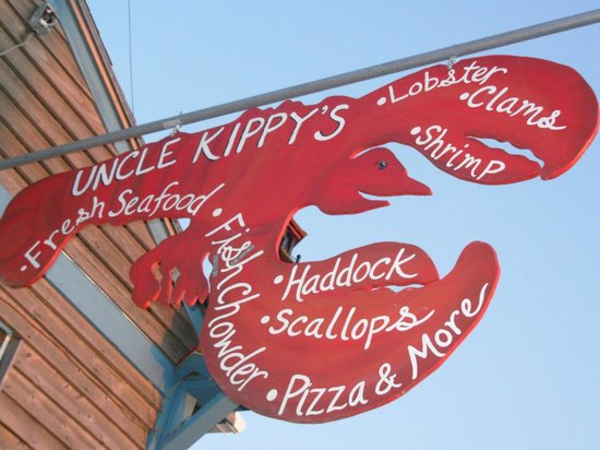 Uncle Kippy's sign