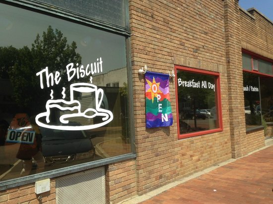 The Biscuit: The Washington St Entrance