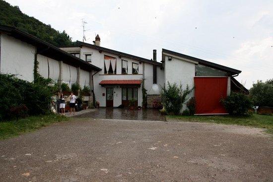 Agriturismo Antica Strada Romana: ingresso