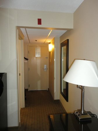 Holiday Inn Birmingham Airport: Hallway in Room