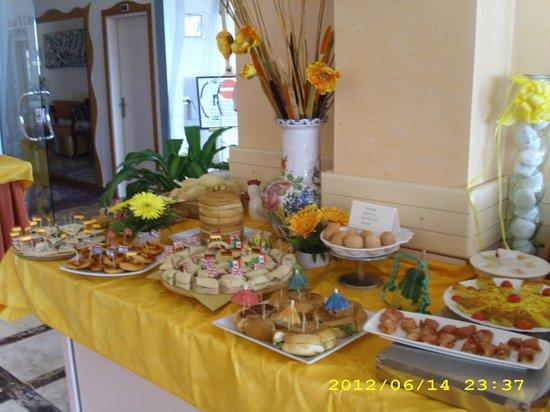 Hotel Cobalto: Buffet
