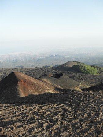 Etna Sicily Touring: Vista dal rifugio