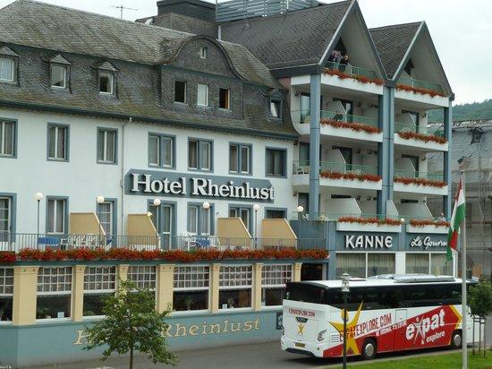 Hotel Gasthaus Rheinlust: Hotel exterior