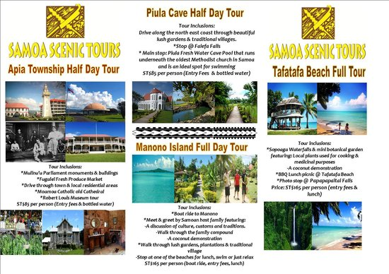 Half Day Tour to Piula Cave Pool! A perfect spot for swimming ...