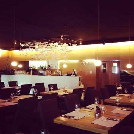 Restaurant Noir : interior