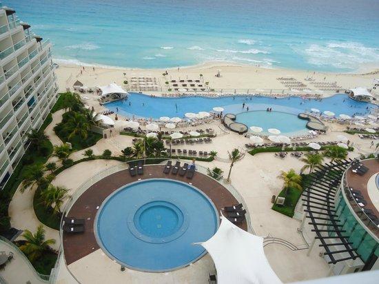 Hard Rock Hotel Cancun: Vista da suite