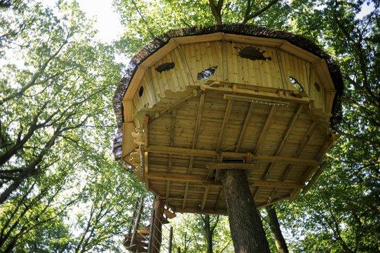 Champrond-en-Gatine, France: La cabane escalier colimaçon