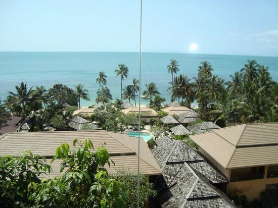 Silent Palm Taling Ngam: Вид из фитнес-центра неподалеку