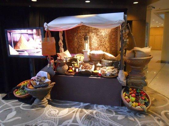 Hyatt Regency Perth: Thematic display at the entrance