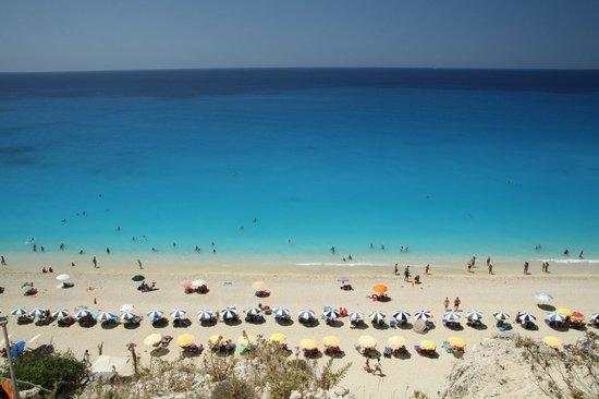 Strand von Egremni: Egremni Beach Landscape
