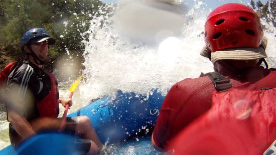 Kokopelli River Guides - Day Trips: into a rapid