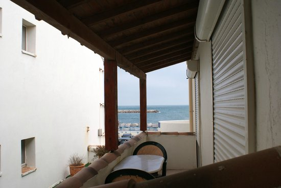 Hotel Le Dauphin Bleu : vista dalla stanza n.14