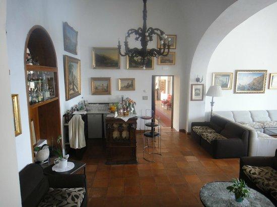 Hotel Luna Convento: Hotel bar area