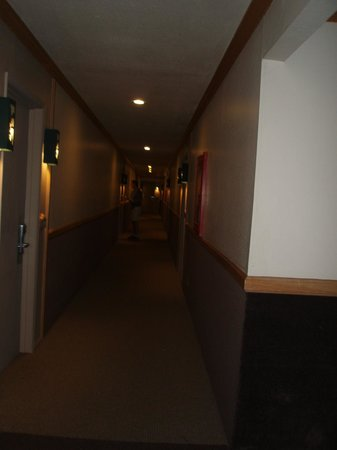 Forest Suites Resort at Heavenly Village : Depressing Hall Way