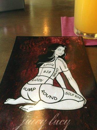 Grind Burger Bar & Lounge: Postcard from establishment