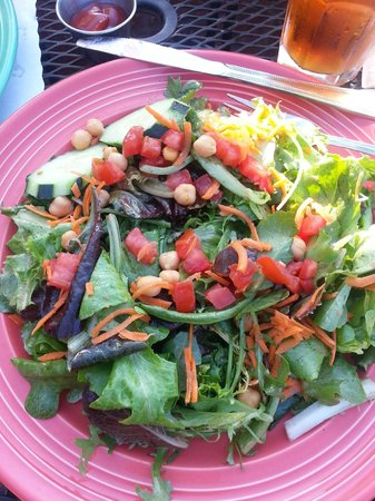 Fresco Valley Cafe: Garden Salad