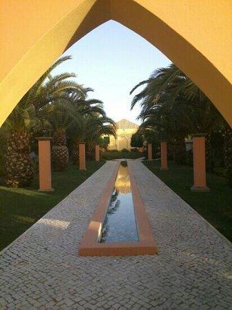 Jardim da Meia Praia : entrada