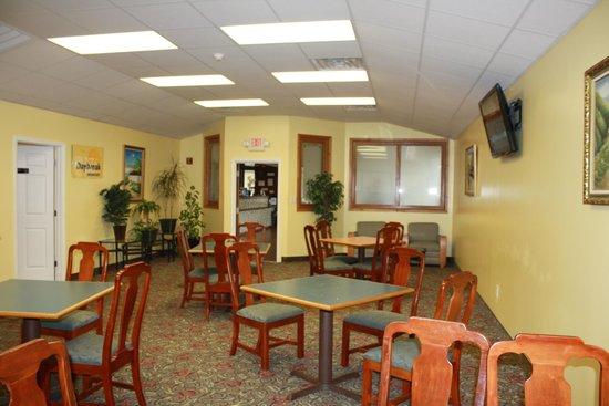Days Inn Fayetteville-South/I-95 Exit 49: Breakfast room