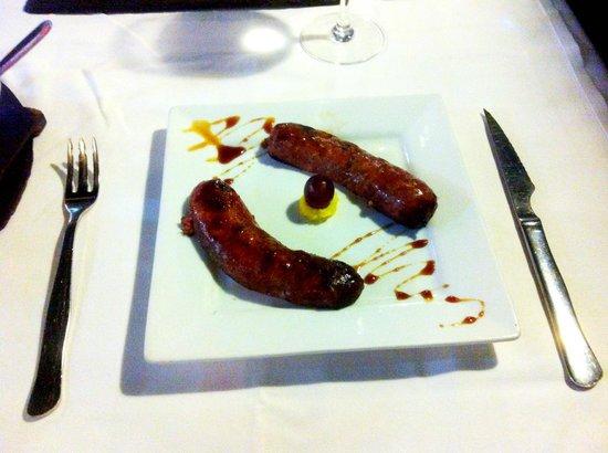 Grill El Asador: Chorizo sausage starter