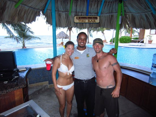 Jaguar Reef Lodge & Spa: With Gilbert 'the man'