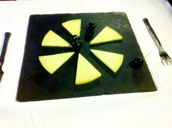 Grill El Asador : Manchego cheese starter