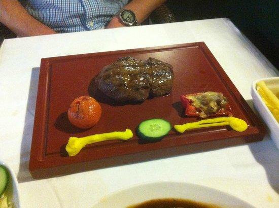 Grill El Asador: Fillet steak