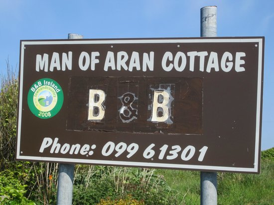 Man of Aran Cottage : Well known location