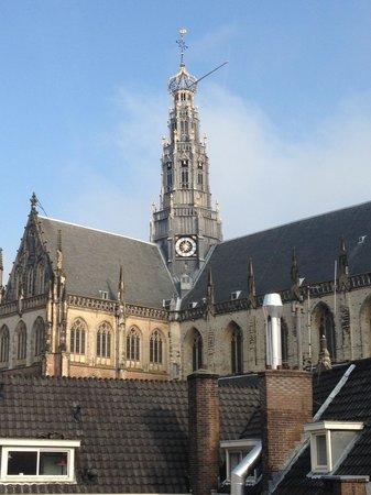 Amrath Grand Hotel Frans Hals: Uitzicht vanuit de kamer
