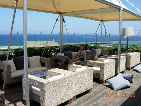 GDM Megaron Hotel: Rooftop View