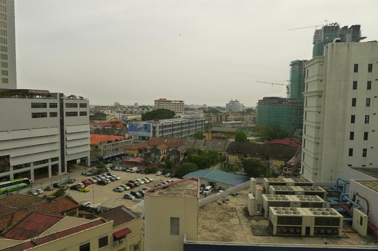 Bayview Hotel Melaka : View from the room