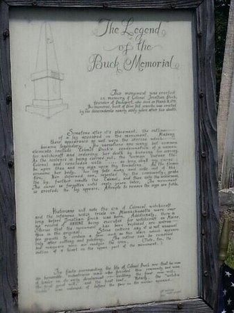 Buck Cemetery: The legend