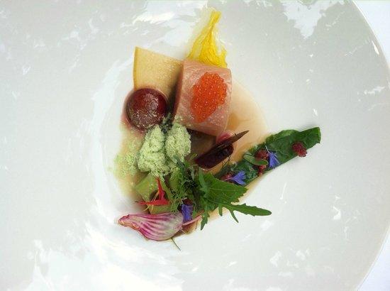 Restaurant Matisse: trout +++