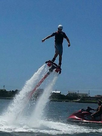 "Indian Beach, Kuzey Carolina: H2O Sports Rentals ""FLYBOARD"""