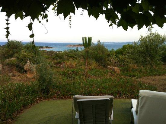 Residence Baia Salinedda: La veranda...