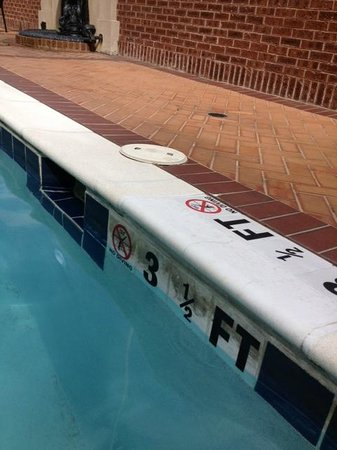 Courtyard Charleston Historic District : Pool scum